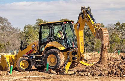 Genie backhoe loaders