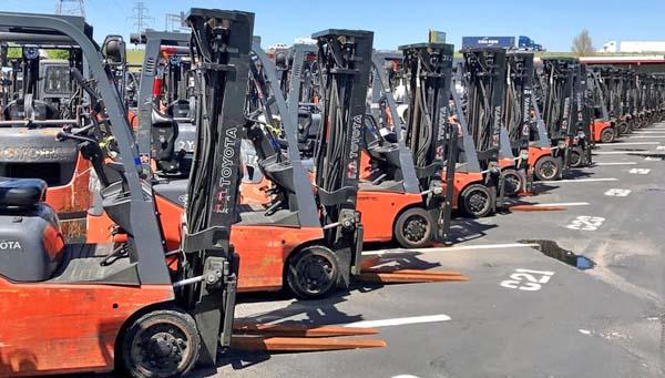 Sit Down Riding Forklifts Washington