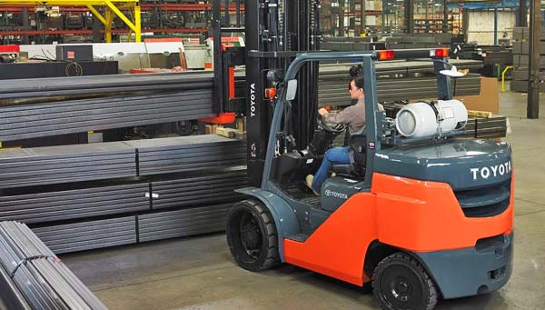 Sit Down Riding Forklifts Delray Beach