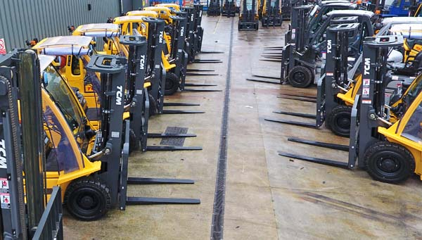 Buy used forlifts Maine