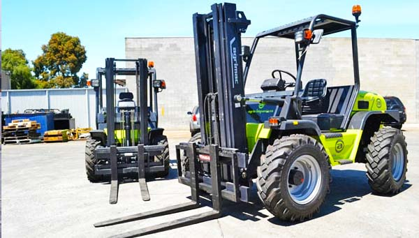 Lease Rough Terrain Forklifts